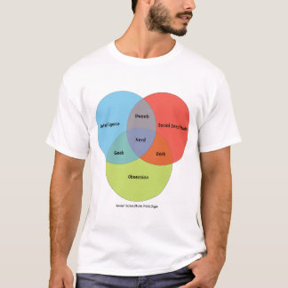 Nerd Venn Diagram T-Shirt