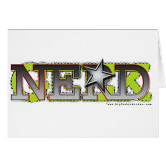 Nerd_wh Greeting Cards