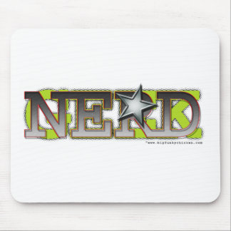 Nerd_wh Mouse Pad