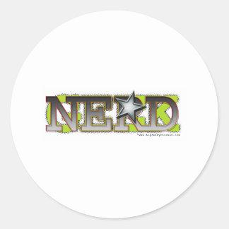 Nerd_wh Sticker