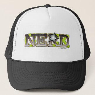 Nerd_wh Trucker Hat