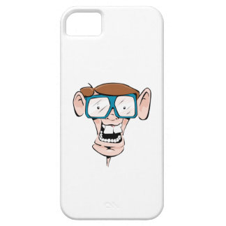 Nerd with Glasses iPhone SE/5/5s Case