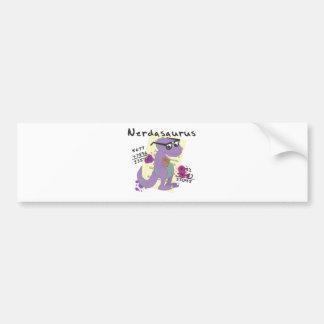 Nerdasaurs Bumper Sticker