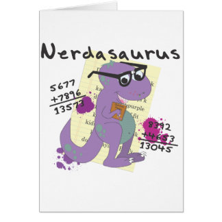 Nerdasaurs Card