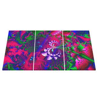 Nerdberries Psychedelic Fractal Canvas Print