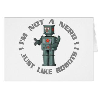 NerdBot Greeting Card