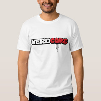 NERDCORE by Jetpacks and Rollerskates T Shirt
