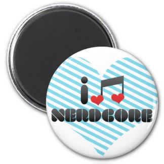 Nerdcore fan magnet
