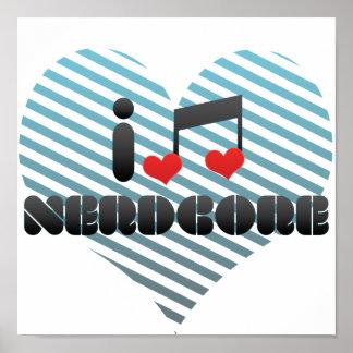 Nerdcore fan print