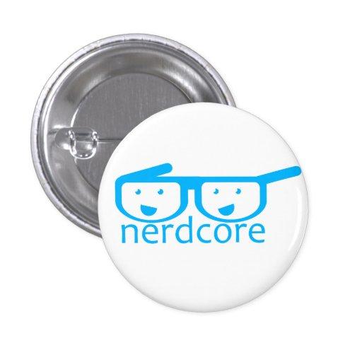 Nerdcore Pin Redondo 2,5 Cm