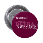 Nerdfighter Made of Awesome - Cust... - Customized Buttons