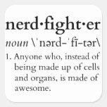 Nerdfighter? Square Sticker