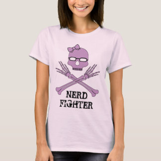 Nerdfighter with bow T-Shirt