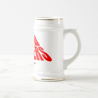 NERDFIGHTERS, MADE OF AWESOME BEER STEIN