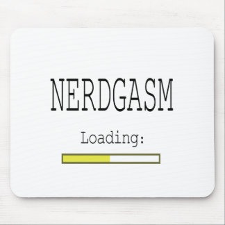 Nerdgasm Loading Mouse Pad