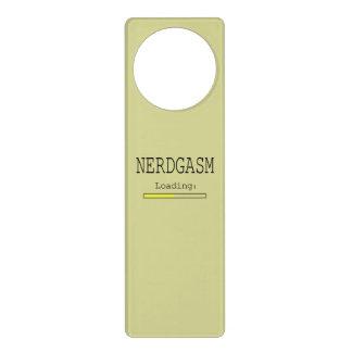 Nerdgasm Loading (with Data Bar) Door Hanger
