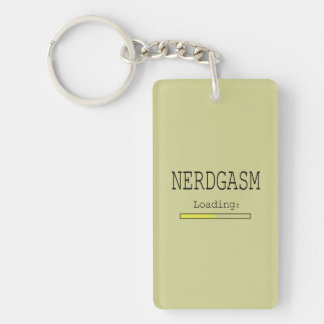 Nerdgasm Loading (with Data Bar) Keychain