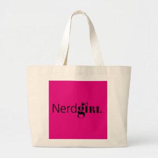 Nerdgirl Color Block Jumbo Tote Bag