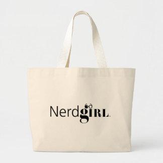 Nerdgirl Large Tote Bag