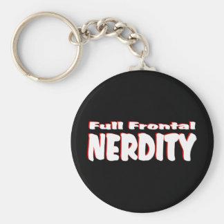 Nerdity frontal lleno #2 llavero redondo tipo pin