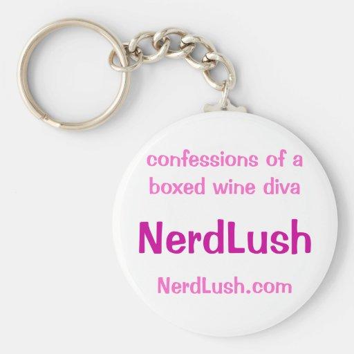NerdLush- basic keychain