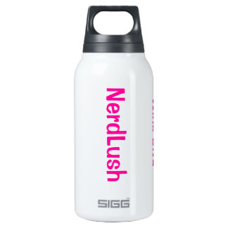 NerdLush- Insulated Water Bottle