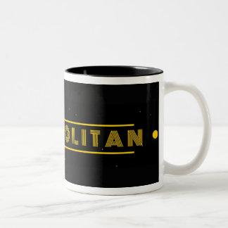 Nerdopolitan Two-Tone Coffee Mug