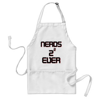 Nerds 4 Ever Adult Apron