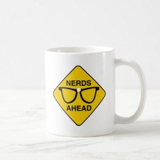 Nerds Ahead Coffee Mugs