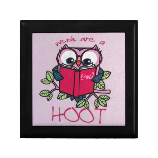 Nerds are a Hoot - Owl - Trinket Boxes