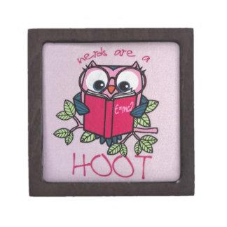 Nerds are a Hoot - Owl - Premium Gift Box