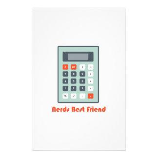 Nerds Best Friend Customized Stationery