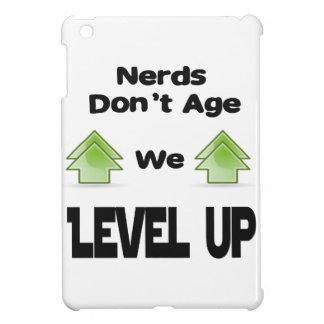 Nerds Don't Age We Level Up iPad Mini Cases