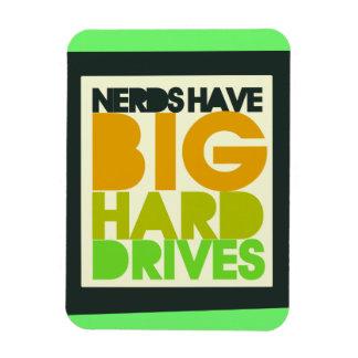 Nerds have big hard drives magnet