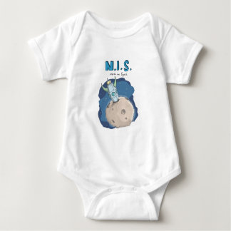 Nerds in Space Baby Bodysuit