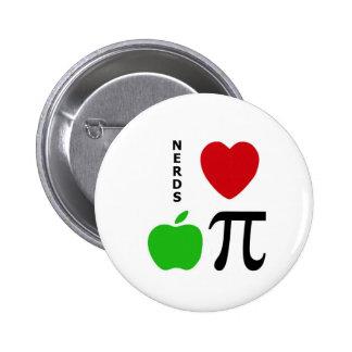 Nerds Love Apple Pie Buttons