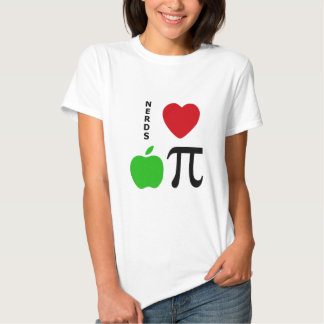 Nerds Love Apple Pie Shirt