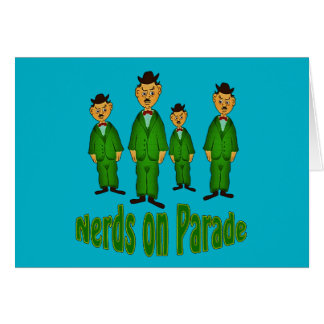 Nerds On Parade Card