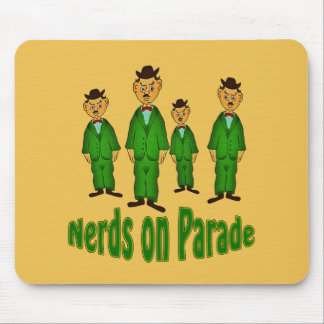 Nerds On Parade Mouse Pad