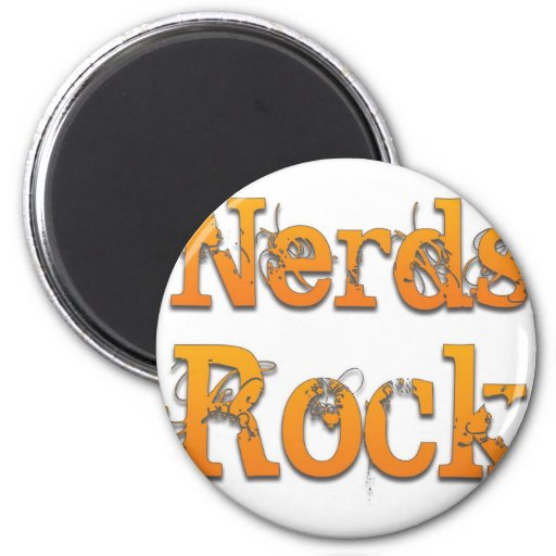 Nerds Rock 2.jpg 2 Inch Round Magnet