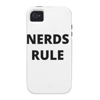 Nerds Rule iPhone 4/4S Cover