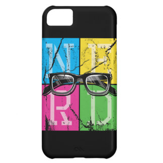 Nerd's Spectacle Case For iPhone 5C