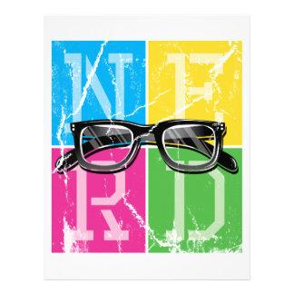 Nerd's Spectacle Letterhead Design