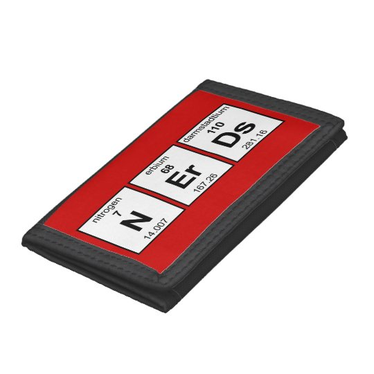 NErDs Trifold Wallet