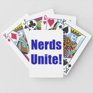 Nerds Unite Bicycle Poker Deck