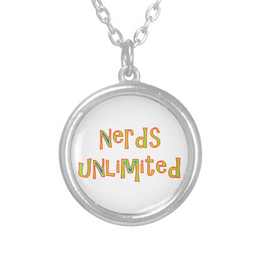 nerds unlimited colgante redondo