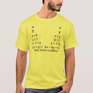 Nerds Wear Algebras T-Shirt