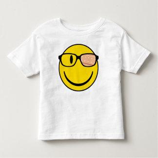 NerdSmiley with plaster Toddler T-shirt