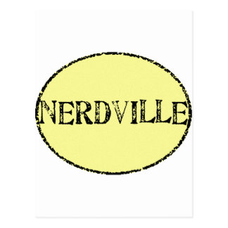 Nerdville Postcard