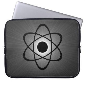 Nerdy Atomic Electronics Sleeve, Gray Laptop Computer Sleeves